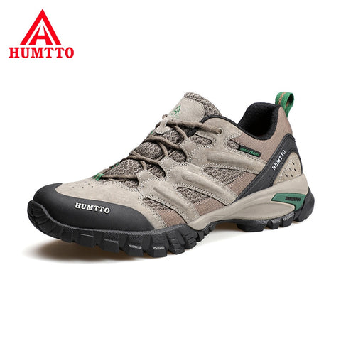Breathable Non-slip Trekking Shoes Wear Resistant Cushioning Sport Outdoor Shoes Brand High Quality Men Hiking Shoes
