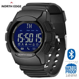 Men's LED Digital Watch Waterproof 100M