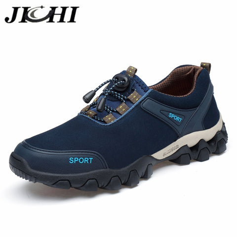 Autumn Men's shoes fashion design Lightweight breathable Men's sneakers outdoor non-slip Lace-up men casual shoes hiking shoes