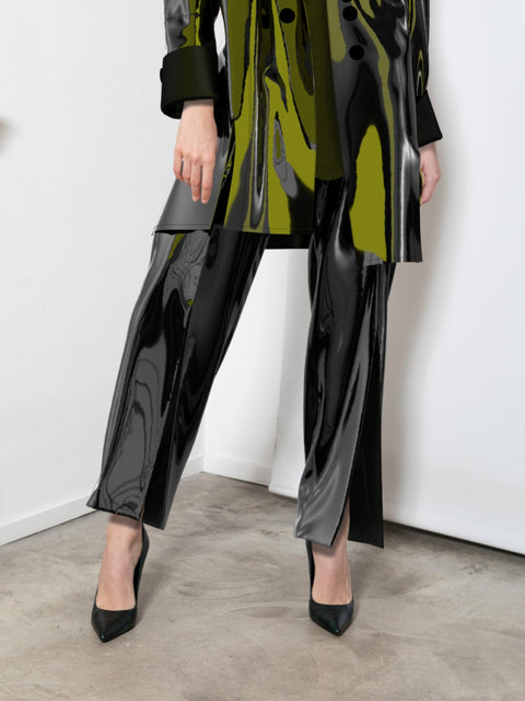 Metallic Trousers - XR Couture
