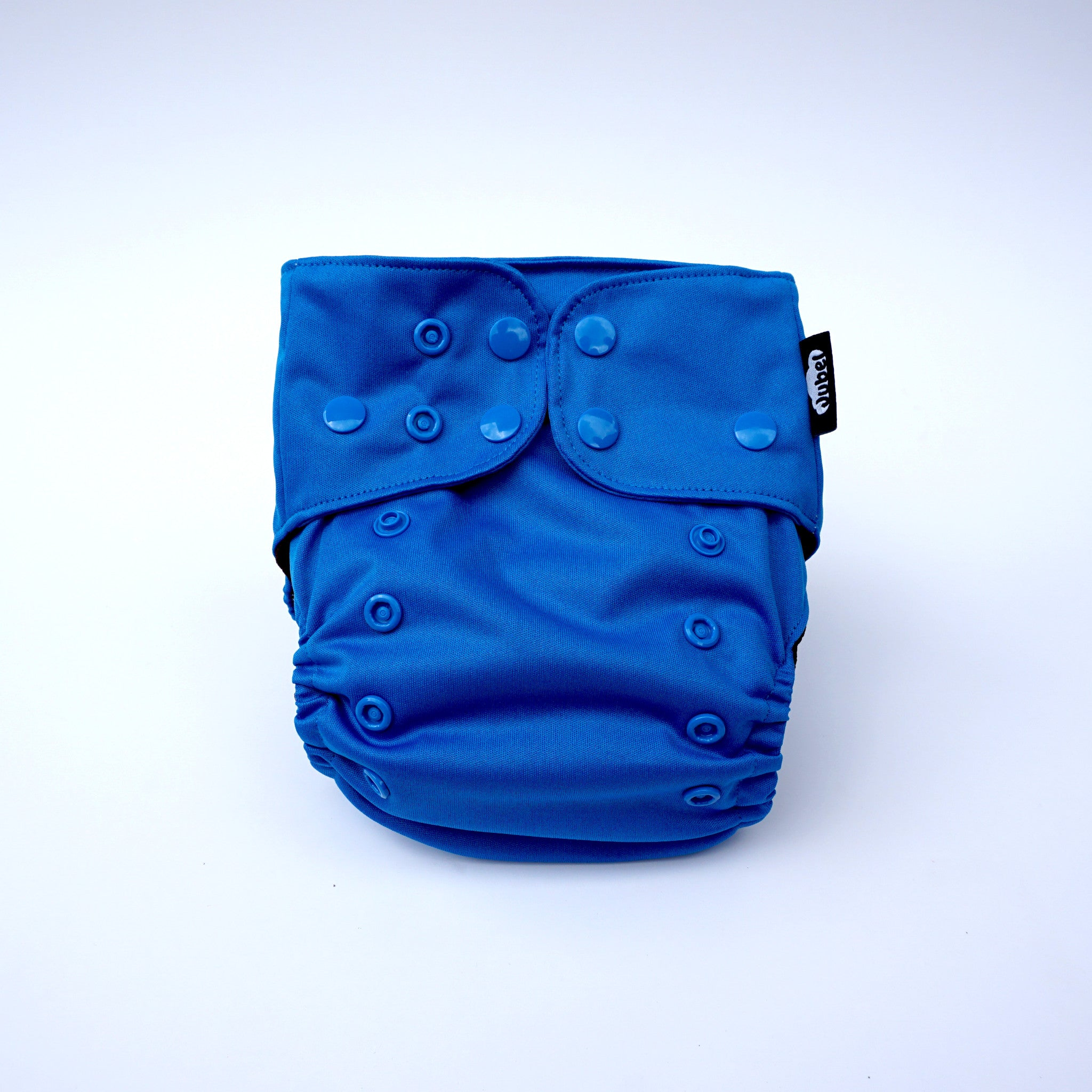 JUBEL Classic reusable nappy colour BLAU front view