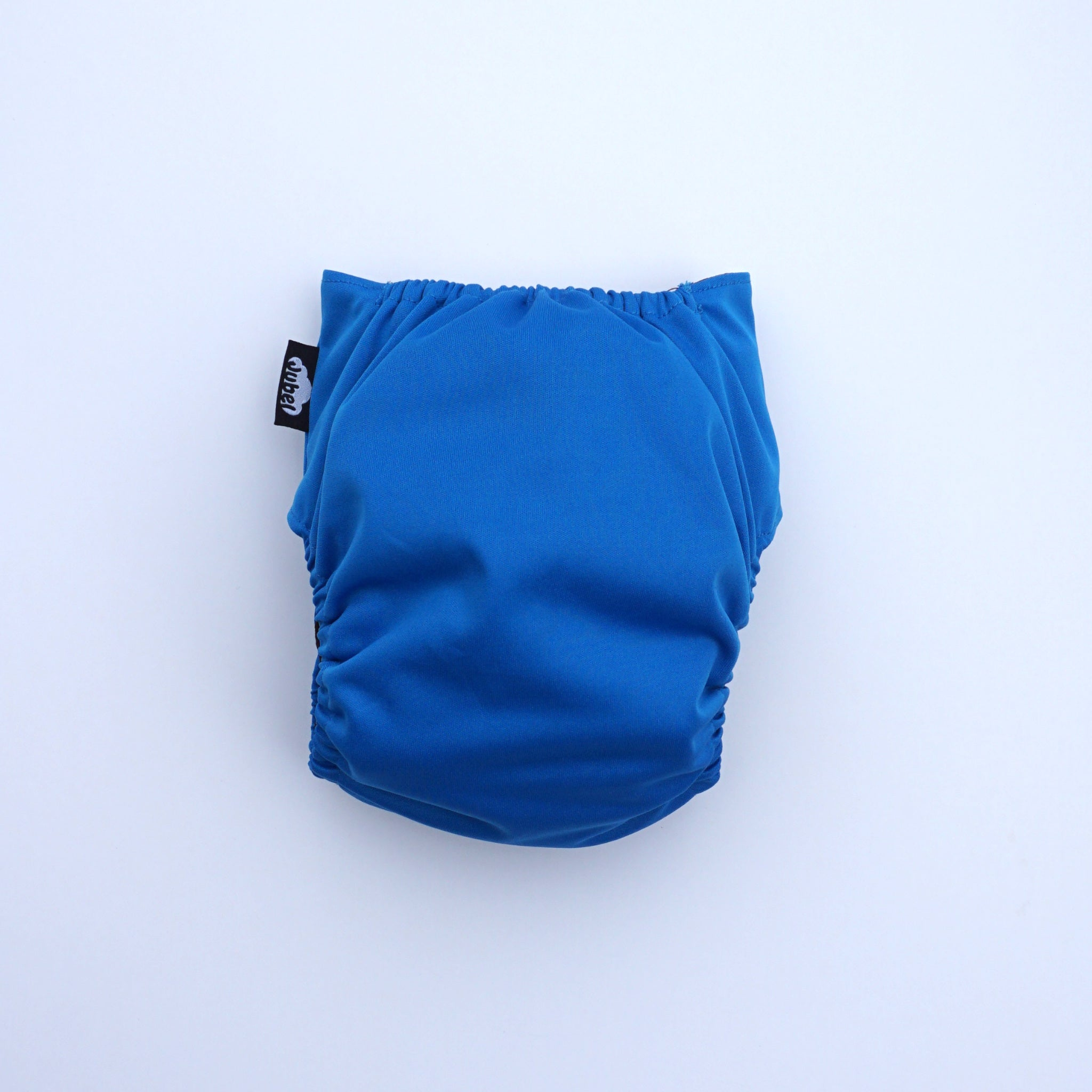 JUBEL Classic reusable nappy colour BLAU back view