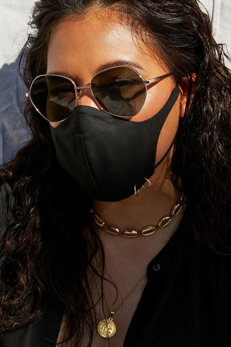The Janie Mask in Black