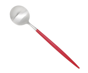 CUTIPOL GOA Red Dessert Spoon