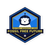 Momentum - Fossil Free stickers