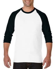 Load image into Gallery viewer, Customized Gildan G570 - Heavy Cotton ¾-Sleeve Raglan Shirt