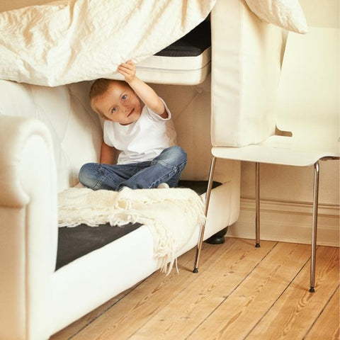 build a fort at home