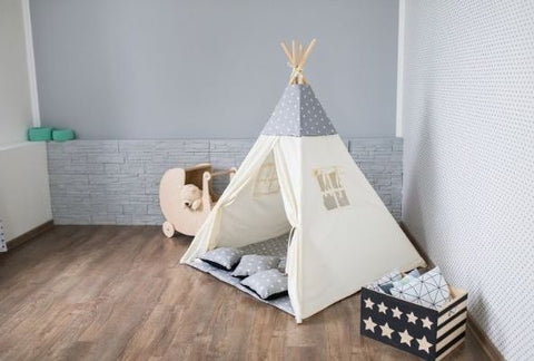 Indoor children's teepee montessori toys for toddlers the wobble board company