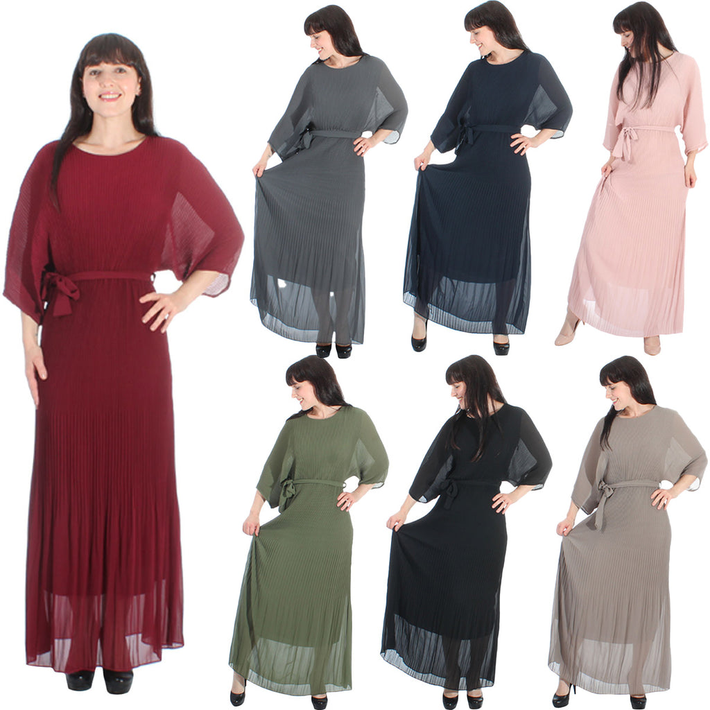 Chiffon Batwing Dress