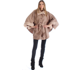 Viva Button Poncho