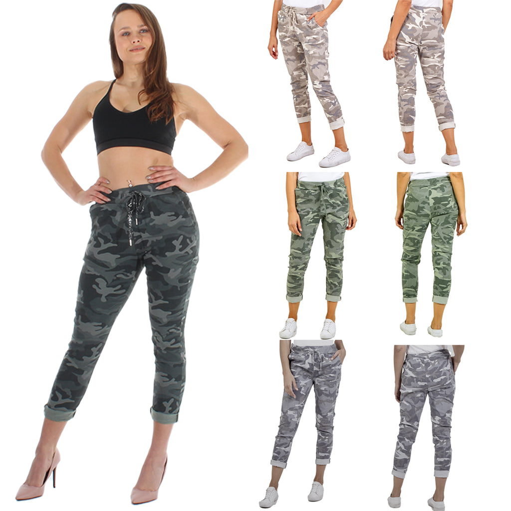 Camouflage Army Style Magic Trousers