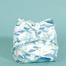 Load image into Gallery viewer, Little Lamb Size 3 pocket nappies