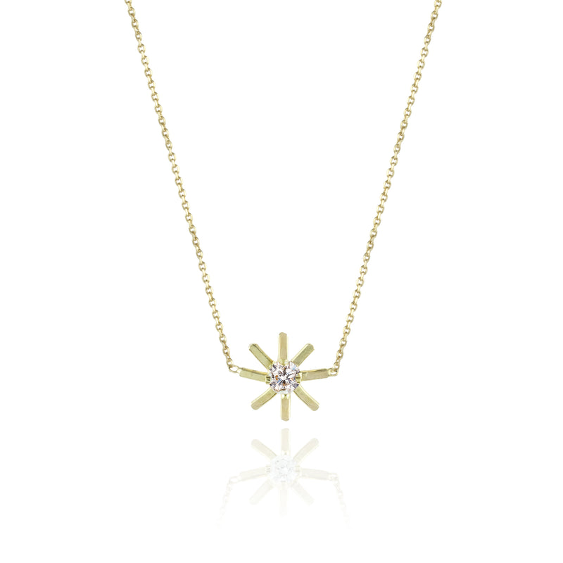 Pop Up Daisy Short Necklace