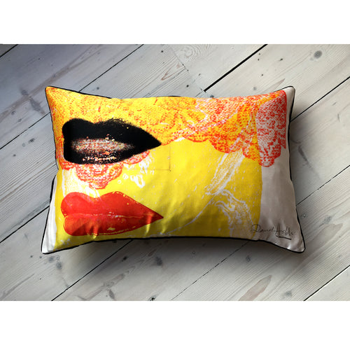David Holah Har-loh Oblong Cushion