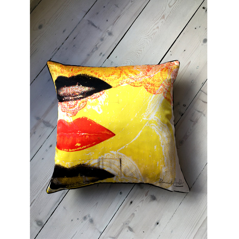 David Holah Har-loh Square Cushion