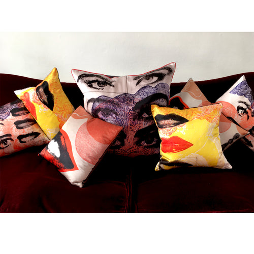 David Holah Mon-roh Square Cushion