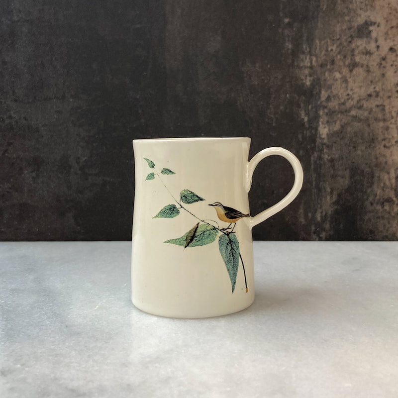 Fliff Carr Espresso Cup with Bird Sitting on Branch