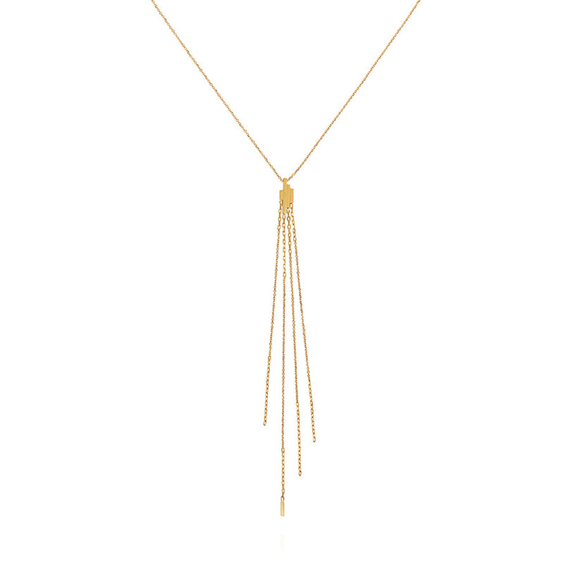 DECO DECADENCE STATEMENT PENDANT NECKLACE