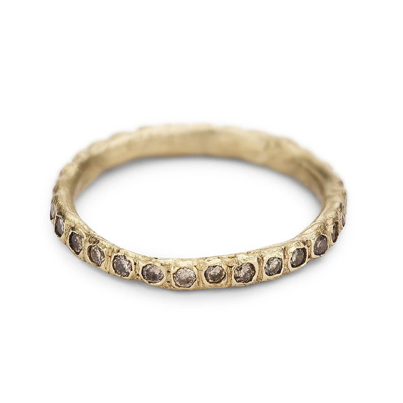 Ruth Tomlinson Champagne Diamond Eternity Band