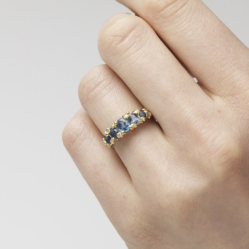 Ruth Tomlinson Blue Sapphire Ring
