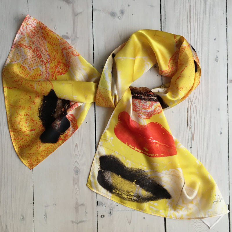 David Holah Har-loh Long Rectangular Scarf