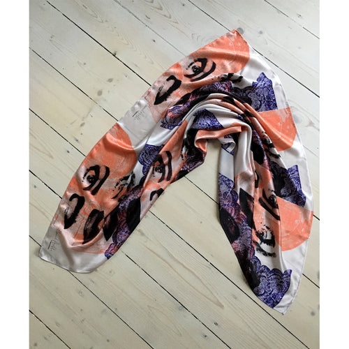 David Holah Bar-doh Square Scarf