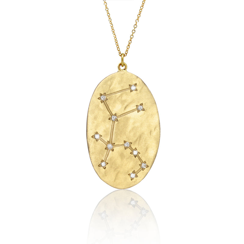 Brooke Gregson Aquarius Astrology Necklace