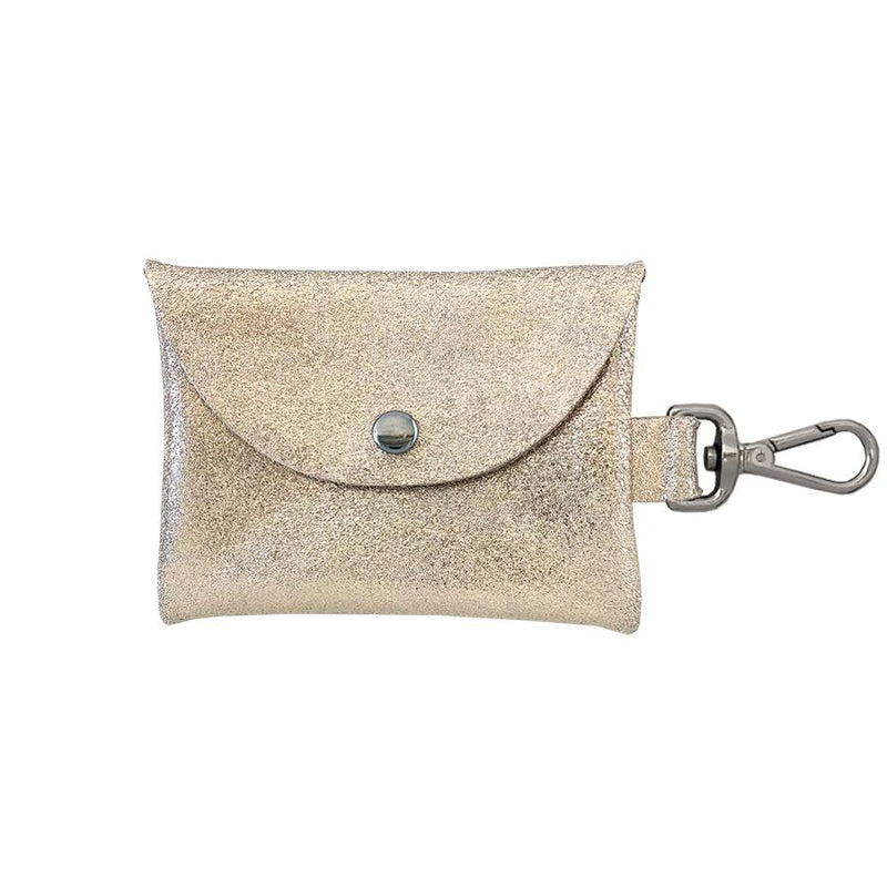 Tracy Tanner Bell Clip Pouch Champagne Sparkle