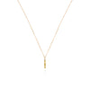 Bits and Bobs Vertical Bar Necklace