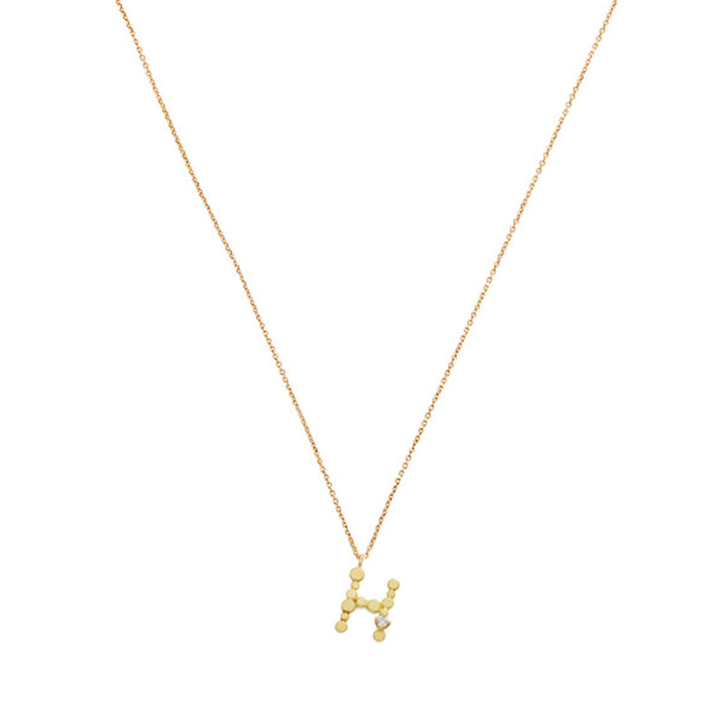 LOVE LETTERS 'H' NECKLACE