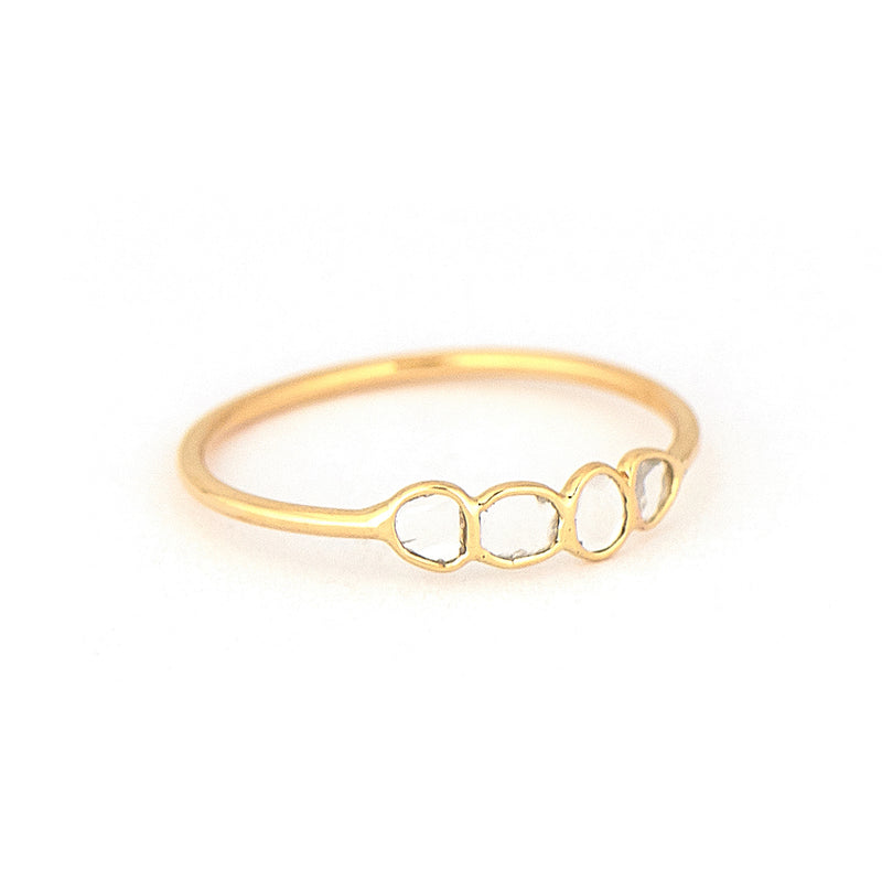 Celine Daoust Polki Diamond Ring