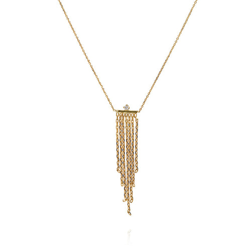 FABULOUS FRINGE DIAMOND NECKLACE