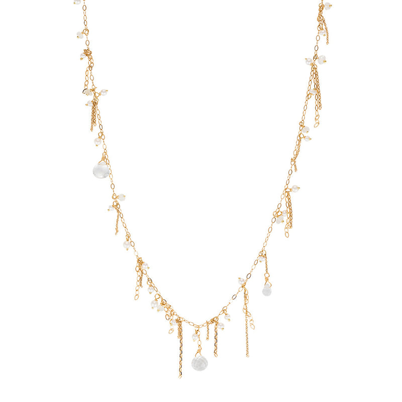 FLAPPER GIRL PEARL NECKLACE