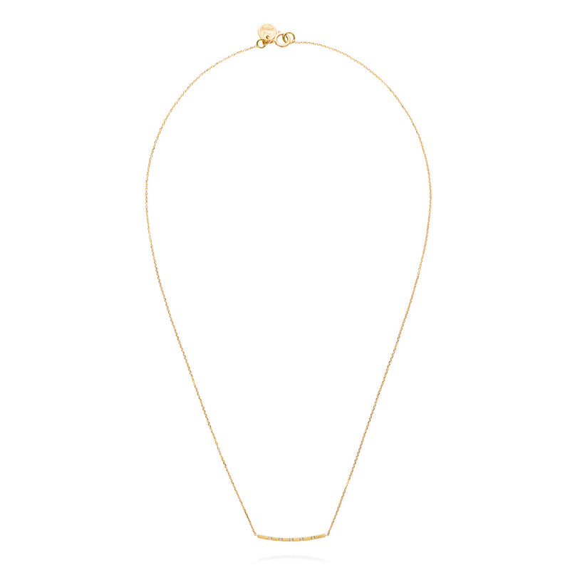 SQUARE CHIC BAR NECKLACE