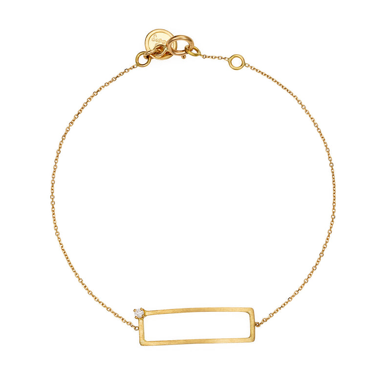 Precious Maze Rectangle Bracelet