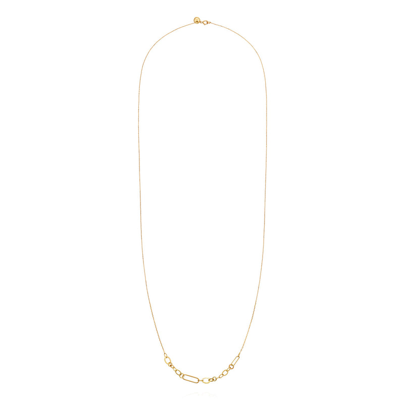 LINKED WITH LOVE LONG NECKLACE
