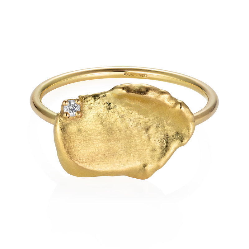 Gold Nugget Ring