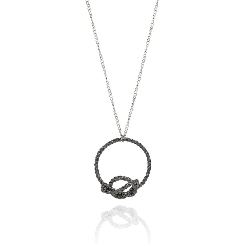 Kerry Huff Knot Pendant Necklace