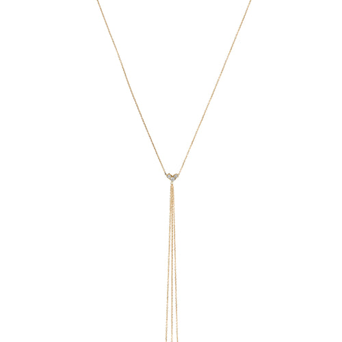 Showgirl Diamond Lariat Necklace