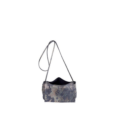 Tracy Tanner Kristina Crossbody Bag Oxidized Pewter