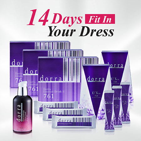 14 DAYS FIT IN YOUR DRESS [*DED761-3]