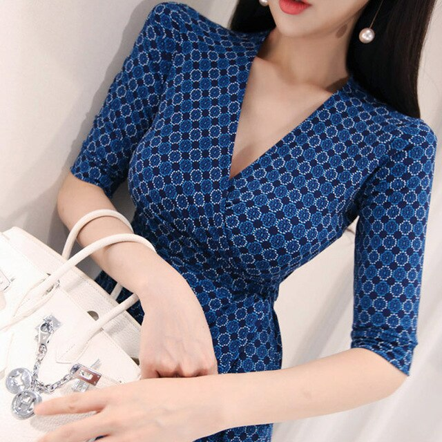 Summer Blue Dress