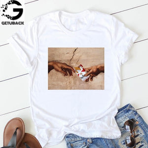 T Shirt  Short Sleeve Cotton