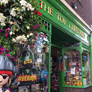 A traditional toy shop in the heart of Winchester.  Specialising in baby & child development encouraging learning through play.  With two floors filled with toys and games for all ages. Stockists of all major toy brands.