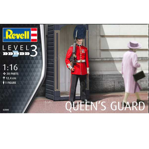 Revell Queen's Guard 02800