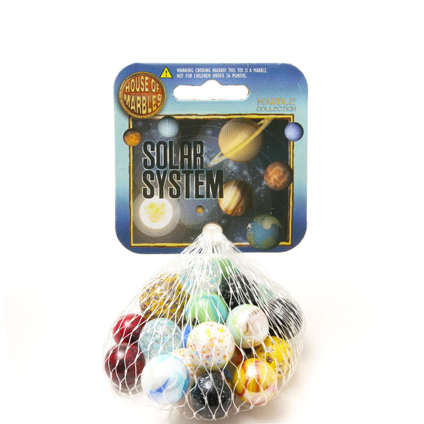 Net Bag of Solar System Marbles