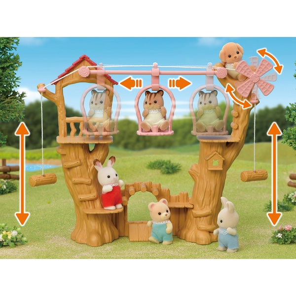Sylvanian Families Baby Ropeway Park