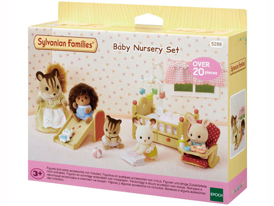 Sylvanian Families Baby Nursery Set - Limited Edition 5288