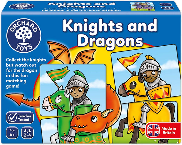 Orchard Toys Knights & Dragons Game | Age 4+