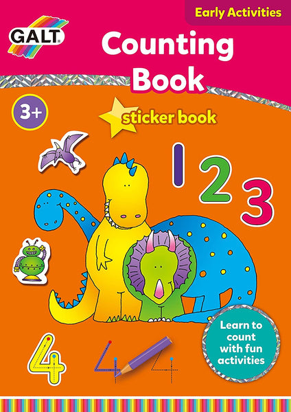 Galt Toys Home Learning Counting Sticker Book